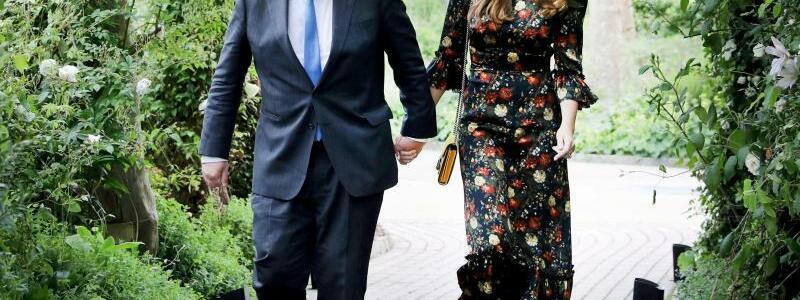 Carrie und Boris Johnson - Foto: Jack Hill/The Times Pool/AP/dpa