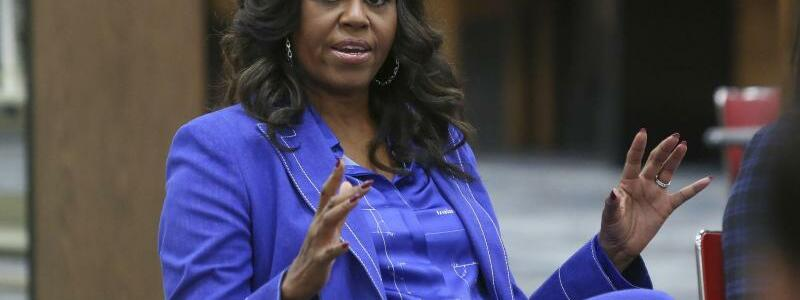 Michelle Obama - Foto: Teresa Crawford/AP/dpa