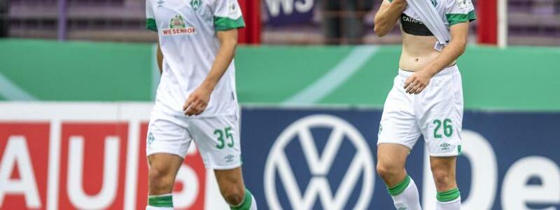 Werder-Aus in Runde 1 - Foto: David Inderlied/dpa
