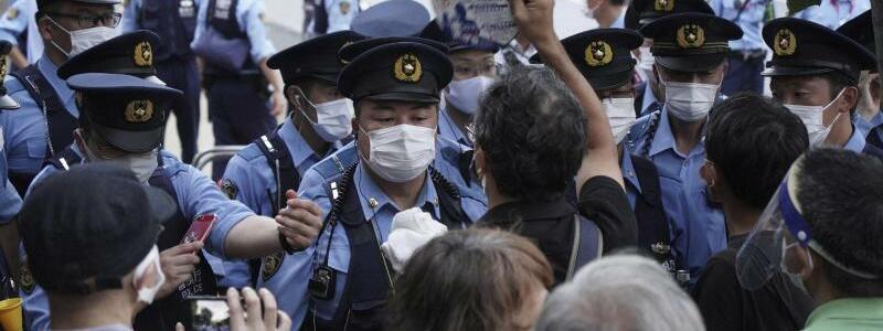 Proteste - Foto: Kantaro Komiya/AP/dpa