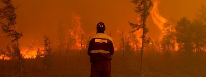 Feuer - Foto: Ivan Nikiforov/AP/dpa