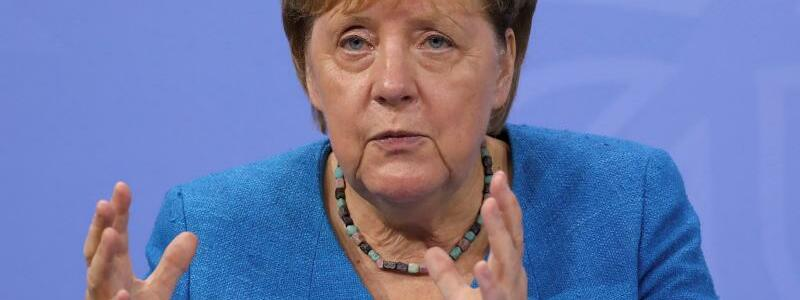 Angela Merkel - Foto: Christian Mang/Reuters/Pool/dpa