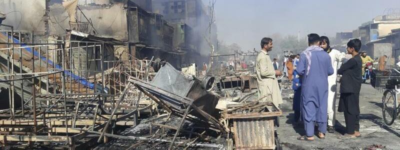 Konflikt in Afghanistan - Foto: Abdullah Sahil/AP/dpa