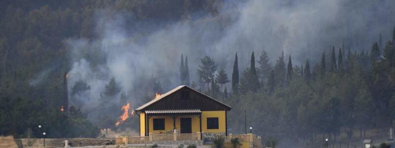 Waldbr?nde in Italien - Foto: Salvatore Cavalli/AP/dpa