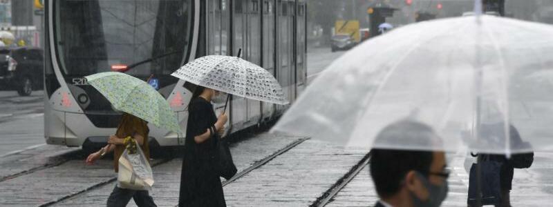 Regen - Foto: --/kyodo/dpa