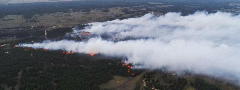 Waldbr?nde in?Russland - Foto: Ministerium f?r Katastrophenschutz/TASS/dpa