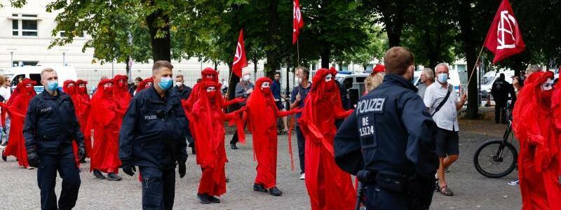 Protest - Foto: Gerald Matzka/dpa