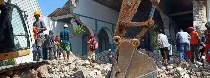 Erdbeben auf Haiti - Foto: Jiang Gong/XinHua/dpa
