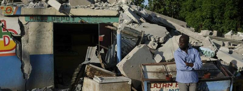Erdbeben auf Haiti - Foto: Matias Delacroix/AP/dpa