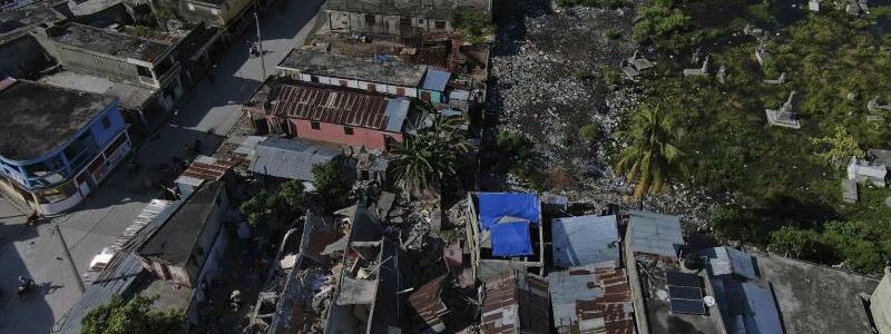 Erdbeben auf Haiti - Foto: Fernando Llano/AP/dpa