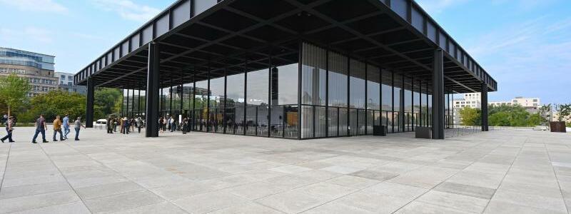 Festakt zur Wiederer?ffnung der Neuen Nationalgalerie - Foto: Soeren Stache/dpa-Zentralbild/POOL/dpa