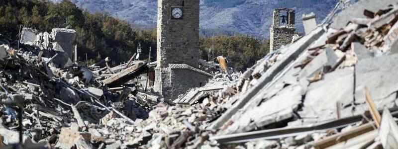 Erdbeben in Amatrice 2016 - Foto: Massimo Percossi/ANSA/dpa