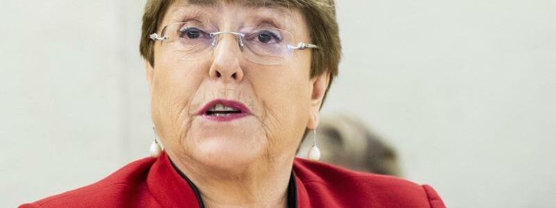 UN-Hochkommissarin f?r Menschenrechte Michelle Bachelet - Foto: Violaine Martin/UN Geneva/dpa