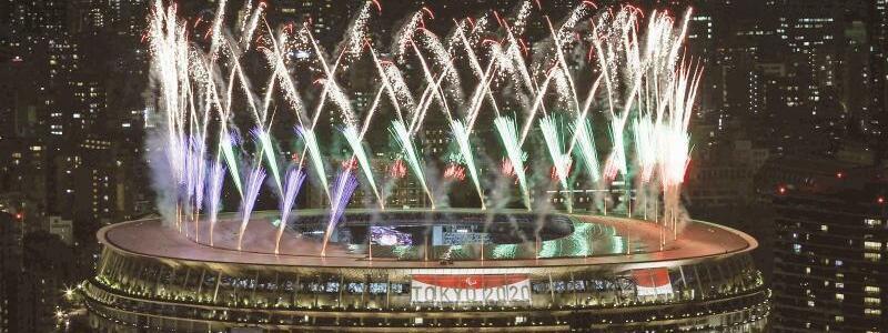 Feuerwerk - Foto: -/Kyodo/dpa