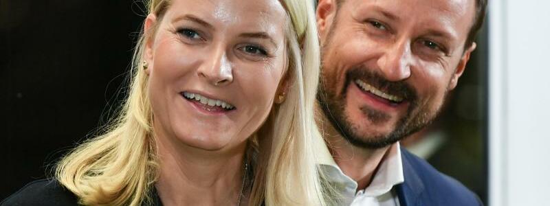 Kronprinzenpaar Haakon und Mette-Marit - Foto: Jens Kalaene/dpa-Zentralbild/dpa