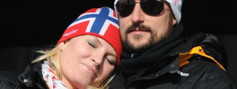 Kronprinzenpaar Haakon und Mette-Marit - Foto: Patrick Seeger/dpa