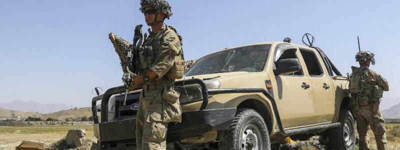 US-Truppen - Foto: Sgt. Jillian G. Hix/U.S. Army via AP/dpa