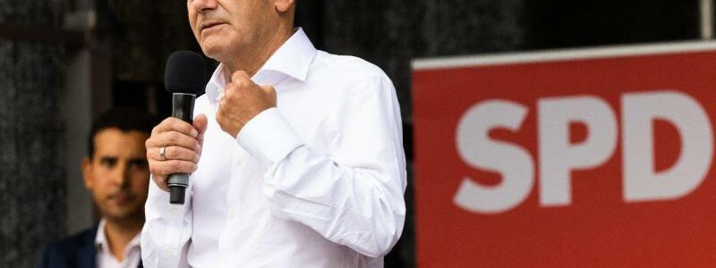 SPD-Wahlkampf - Foto: Philipp von Ditfurth/dpa