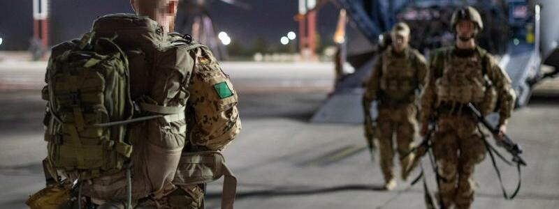 Abzug aus Afghanistan - Foto: Marc Tessensohn/Bundeswehr/dpa