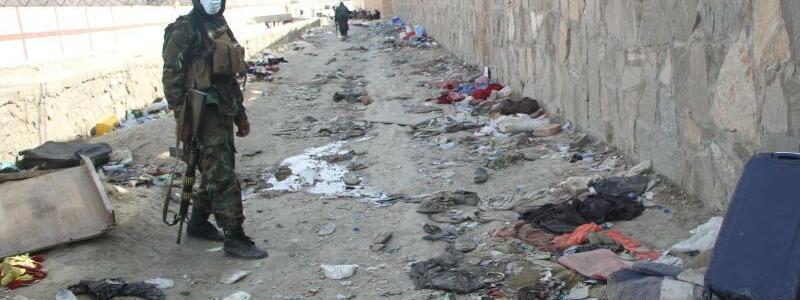 Explosion in Kabul - Foto: dpa