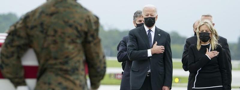 Joe und Jill Biden - Foto: Manuel Balce Ceneta/AP/dpa