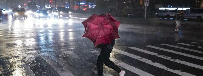 Unwetter in?New?York - Foto: Craig Ruttle/AP/dpa