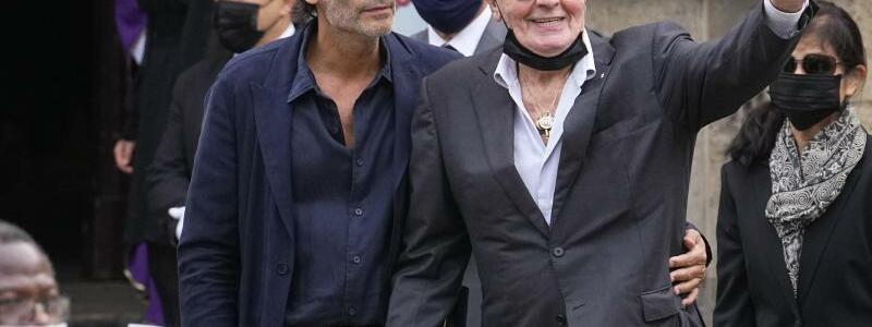 Trauerfeier f?r Schauspiellegende Jean-Paul Belmondo - Foto: Michel Euler/AP/dpa