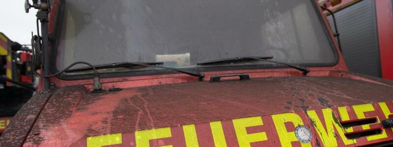 Brand bei Freiwilliger Feuerwehr - Foto: Jonas Walzberg/dpa