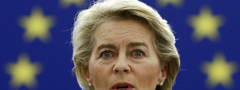 Ursula von der Leyen - Foto: Christian Hartmann/Pool Reuters/AP/dpa