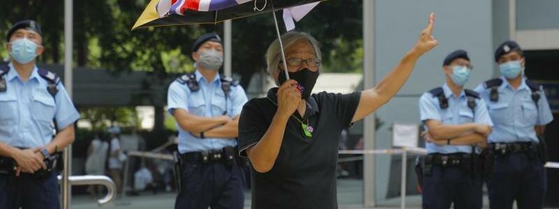 Demokratiebewegung in Hongkong - Foto: Kin Cheung/AP/dpa