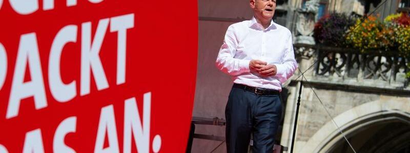 SPD-Kandidat - Foto: Sven Hoppe/dpa