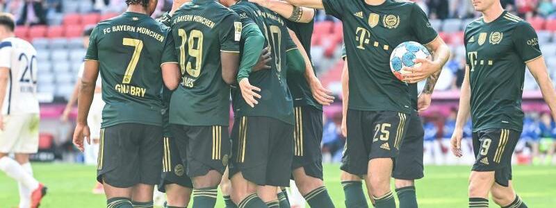 Bayern-Kantersieg - Foto: Sven Hoppe/dpa