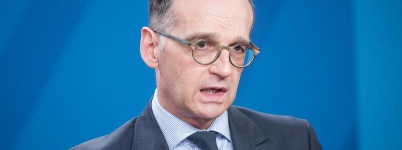 Heiko Maas - Foto: Stefanie Loos/AFP Pool/dpa