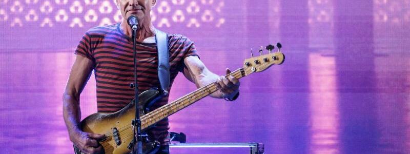 Sting - Foto: Axel Heimken/dpa