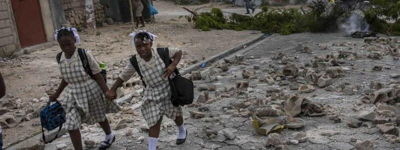 Alltag in Haiti - Foto: Rodrigo Abd/AP/dpa
