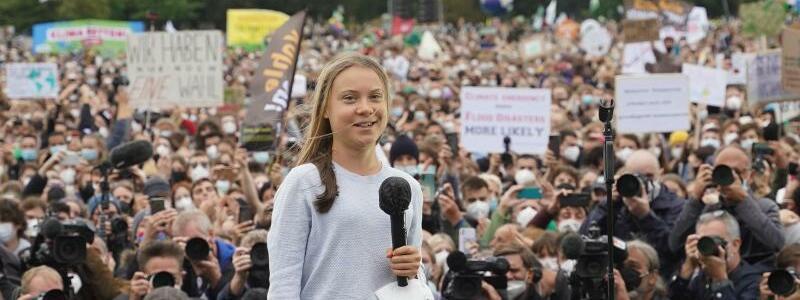 Greta Thunberg - Foto: J?rg Carstensen/dpa