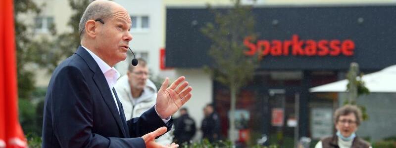 Wahlkampfabschluss SPD - Foto: Soeren Stache/dpa-Zentralbild/dpa