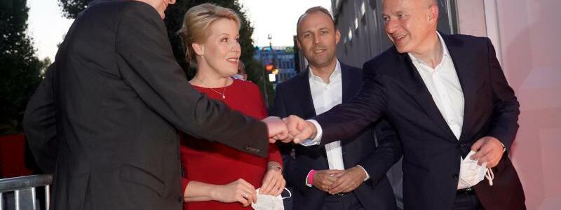 Spitzenkandidaten - Foto: J?rg Carstensen/dpa
