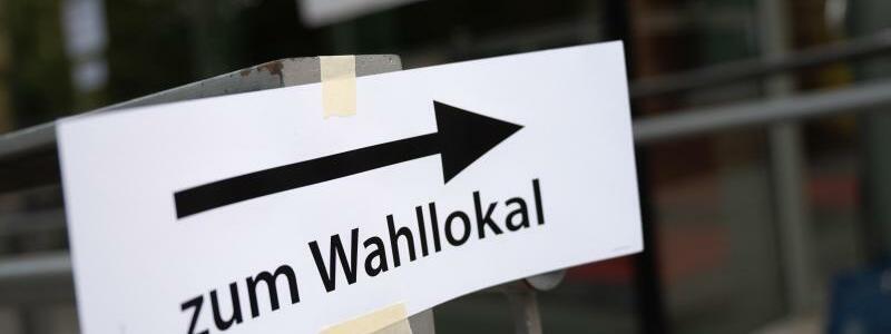 Wahllokal - Foto: Sebastian Gollnow/dpa
