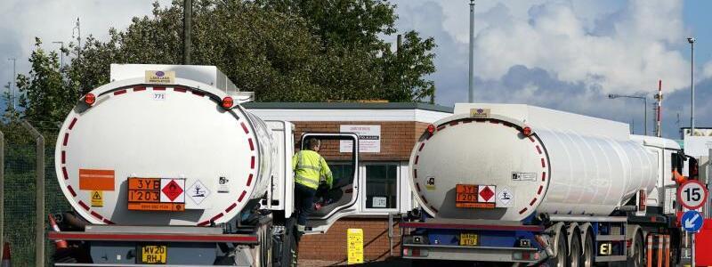 Mangel an Lkw-Fahrern in Gro?britannien - Foto: Andrew Milligan/PA Wire/dpa
