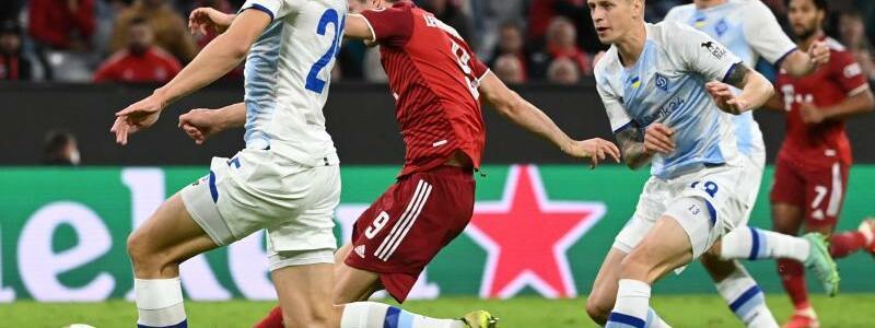 Nochmal Lewandowski - Foto: Sven Hoppe/dpa