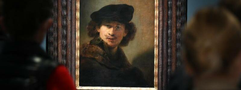 Rembrandt-Ausstellung - Foto: Arne Dedert/dpa