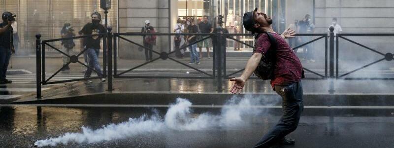 Proteste in Rom - Foto: Cecilia Fabiano/LaPresse via ZUMA Press/dpa