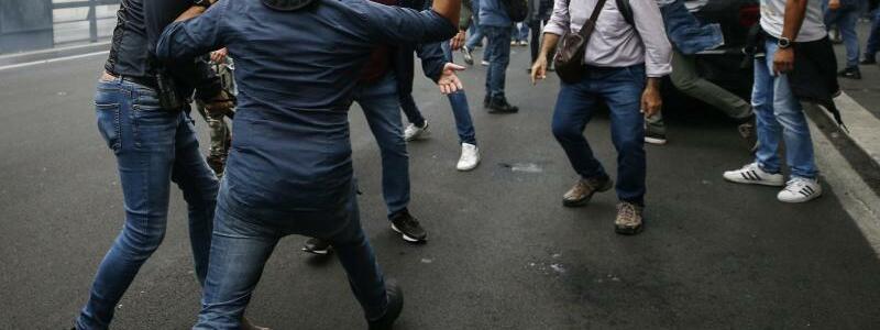 Auseinandersetzungen - Foto: Cecilia Fabiano/LaPresse via ZUMA Press/dpa