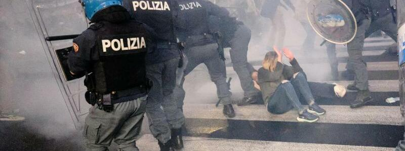 Demonstration in Rom - Foto: Mauro Scrobogna/LaPresse via ZUMA Press/dpa