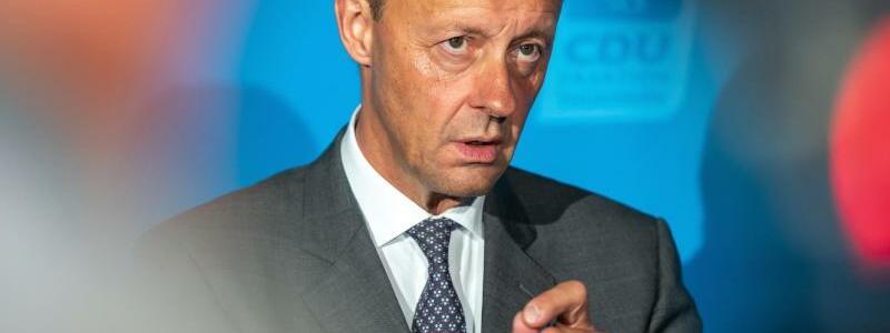CDU-Politiker Merz - Foto: Michael Reichel/dpa
