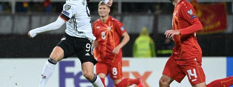 Werner mit dem 2:0 - Foto: Federico Gambarini/dpa