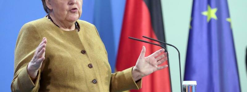 Angela Merkel - Foto: Christoph Soeder/dpa
