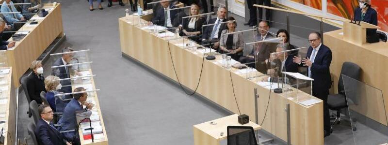 Sondersitzung des Nationalrats in Wien - Foto: Lisa Leutner/AP/dpa