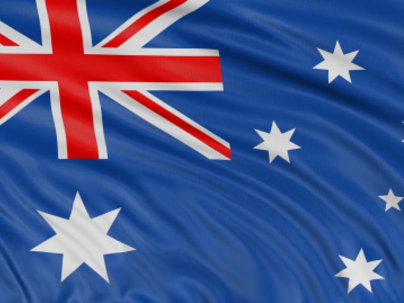 Flagge Australiens - Foto: iStockphoto.com